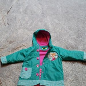 "Worm rain jacket ""Frozen"""